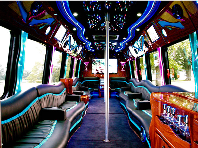 30 Passenger Party Bus for Proms, Weddings, Corporate ...