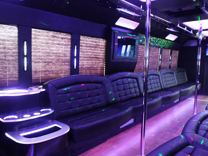34 person party bus
