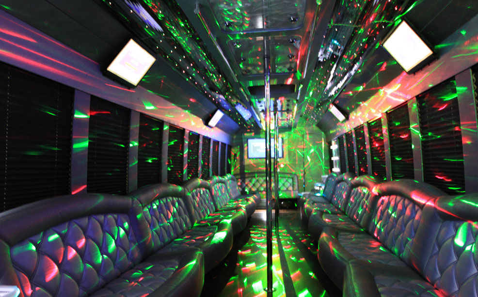 S And S Limo >> 42 Passenger Party Bus - Chic's