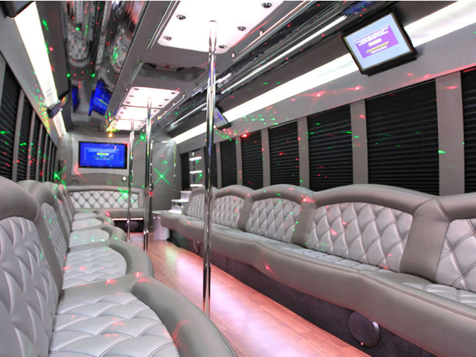 42 Passenger Party Bus Largest In The Area